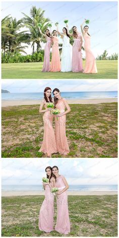 Flattering lace collection for bridesmaids! #edressit #lace #bridesmaid_dresses #wedding