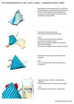 DIY Osterdeko | Bio-Stoffe Siebenblau öko-faire Stoffe © SteffiHanusch  siebenblau.de
