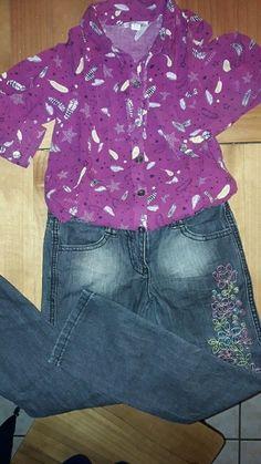 Ensemble Orchestra en 6 ans jean et chemise.