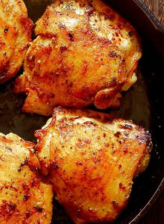 Made with just a few ingredients, there you have the perfect weeknight meal! Baked White Wine Chicken is loaded with flavor from bacon and shallots and is super easy to make! The chicken is browned in the cast iron pan and is thoroughly cooked in the oven, which makes it crispy on the outside, but … Continue reading Oven Roasted Chicken with Bacon in White Wine