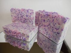 Slip into a field of flourishing lavender with this bar of shea butter soap. Curling purple confetti slivers mimic the unfurling blooms of the meadow and the white shea butter base offers you a uniquely thick lather. The result is a bar of lavender soap that is nourishing, soothing, and has the exceptional ability to wash away even the strongest stresses of the day making it the perfect choice to unwind in the evening. The delicate combination of white and purple soap also makes it a great…