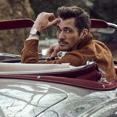 David Gandy for the @Telegraph's #Goodwood supplement   by Tomo BrejcMedia - Tweets by OhMyGandy! (@OhMyGandyFans) | Twitter