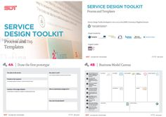 Service Design Toolkit  |  developed by JAMK University of Applied Sciences in collaboration with Palmu Inc. [The toolkit contains a full set of tools covering everything from project definition to project implementation, including Alexander Osterwalder's Business Model Canvas and a nice implementation of a customer journey map.]  #toolkit  #serviceDesign  #workshopFacilitation