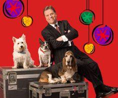 Comedian and ventriloquist Todd Oliver takes the stage with the adorable canine trio of Elvis, Irving, and Lucy for a hilarious, family-friendly show full of Christmas comedy.