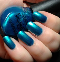 Nicole by OPI - Poised in Turquoise