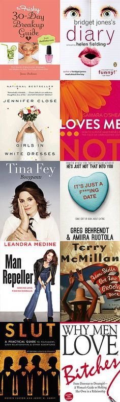 10 Kick-Ass Books For Every Stage of Singledom