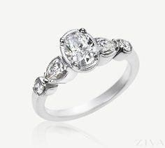 Antique Engagement Rings Oval 9