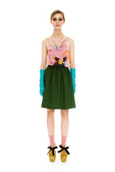 Moschino Cheap And Chic | Pre-Fall 2012 Collection | Vogue Runway