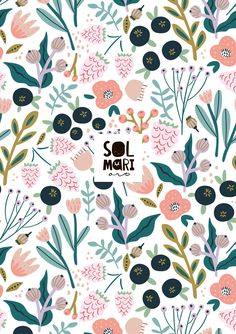 floral pattern, collection In the summer garden by solmariart Summer Garden, Quilts, Blanket, Floral, Pattern, Collection, Quilt Sets, Flowers, Patterns