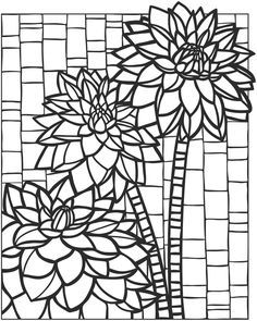 Free Stained Glass Owl Coloring Page For Adults