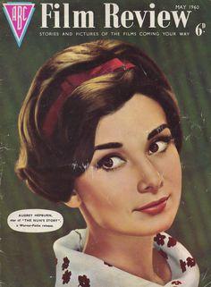 May 1960, Audrey Hepburn