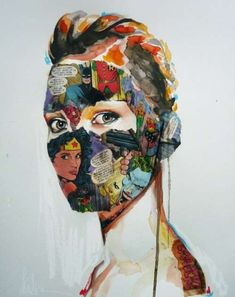 This Mixed Media Art by Sandra Chevrier is Creatively Cultivated #Fashion #Art trendhunter.com