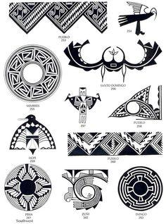 indianer cheyenne - indianische piktogramme und symbole 4 | indianische symbole, indianer muster
