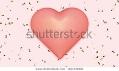 Find Pink Heart On Golden Confetti Background stock images in HD and millions of other royalty-free stock photos, illustrations and vectors in the Shutterstock collection.