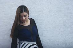 Stripes Print Outfit - Reto Rayas Abril