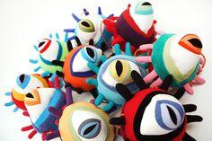Eyes by Jennifer Strunge aka Cotton Monster