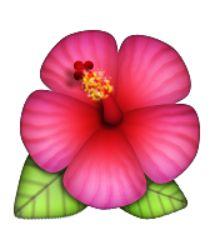 flower emoji art