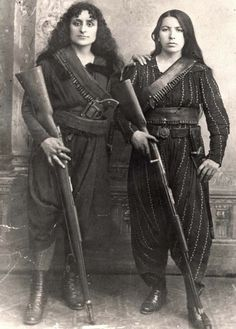 zolotoivek:    Portrait of two Armenian fighters during the Hamidian Massacres, 1895.