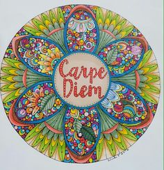 A Valentina Harper design colored with Prisma premier pencils and markers by Vicki Patterson.