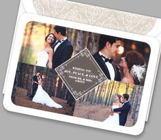 Kleinfeld Paper || Joy, Peace, & Love Holiday Photo Card