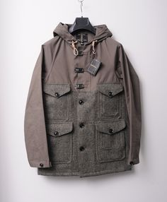6c6a33a8cdc2f5 nickelcobalt  Nigel Cabourn x Harris Tweed x Mackintosh Cameraman Jacket  Often imitated