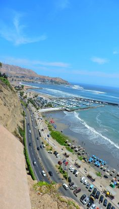 Views from Miraflores, Lima in Peru.