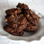Salted Chocolate Peanut Cookies Recipe at Cooking.com