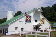 Quilt Barn - patterns are Gallia Co. Logo & Central Star. Located in Gallia County, Ohio.
