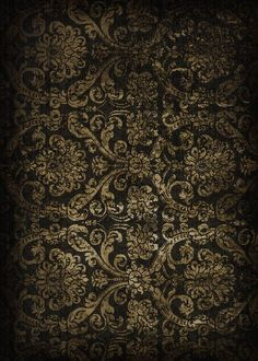 haunting and beautiful old black wallpaper