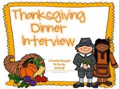 Classroom Freebies: A Thanksgiving Freebie!
