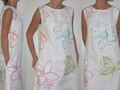 Patron de couture - Robe femme à col froncé