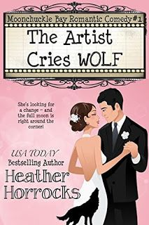KJ's Book Nook: The Artist Cries Wolf by Heather Horrocks