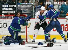Love the Canucks but this is just so funny!