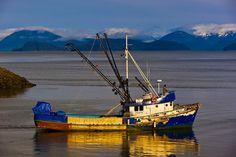 Fishing boat, Wrangell, Southeast Alaska USA, by Blaine Harrington