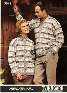 Norwegian Knitting, Color Combinations, Knitting Patterns, Men Sweater, Sweaters, Vintage, Colour, Fashion, Color Combos