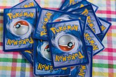 Pokemon party invitations (party season begins... NOW)