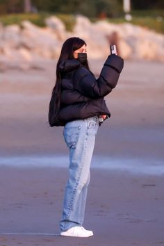 Kylie Jenner Outfits, Kendall Jenner, Uni Outfits, Winter Outfits, Fashion Outfits, Santa Barbara, Travis Scott, Celebrity Outfits, Boyfriends