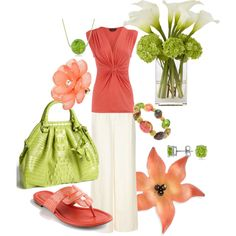 Spring Fresh, created by sharifrench on Polyvore