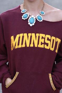 Sportsanista: Where Sports Meets Fashion!: College Football Week 2 - DIY