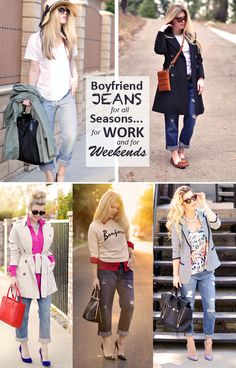 Boyfriend Jeans for all Seasons, for Work & for Weekends