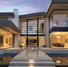 Steel, glass & concrete
