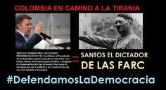 ¡PELIGRO PARA COLOMBIA! Santos busca que el Congreso lo faculte como el Dictador de las Farc