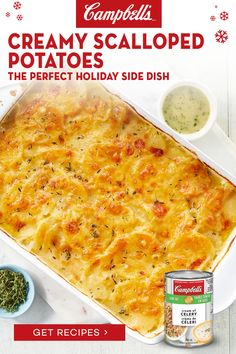 New Recipes, Soup Recipes, Vegetarian Recipes, Favorite Recipes, Healthy Recipes, Recipies, Creamy Scalloped Potatoes, Scalloped Potato Recipes, Vegetable Side Dishes