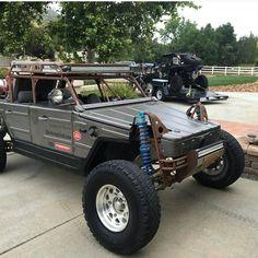 Vw T2 Camper, Volkswagen 181, Truck Roof Rack, 4x4, Go Kart Buggy, Hot Vw, Baja Bug, Audi Cars, Jeeps