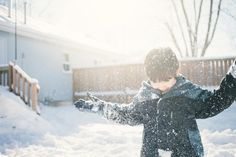 Playing In Snow by Nuno Silva on 500px
