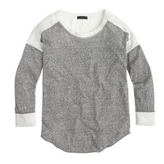 Colorblock burnout tee : Try this: Navy & Black | J.Crew