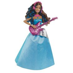 Barbie Rock 'n Royals Erika Doll, Multicolor