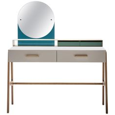 mauro-accardi-silvia-buccheri-konsolentisch-ankleidekonsole-mauro-accardi-silvia-buccheri-medulum-italienisch-modern-messing-holz-eiche/ - The world's most private search engine Modern Sofa Table, Modern Console Tables, Table Furniture, Cool Furniture, Furniture Storage, Modern Furniture, Suspended Shelves, Beauty Desk, Glass Shelves Kitchen