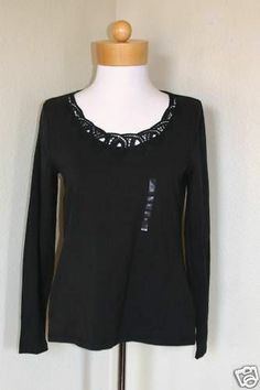 Liz Claiborne On Going Perfects Blk Sz S $45-NWT