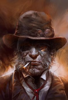 Old Fart - 30 Awesome Digital Portraits  <3 <3